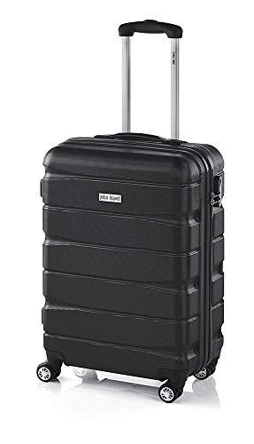 John Travel 721004 2019 Maleta, 50 cm, 30 litros, Negro