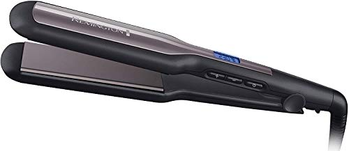 Remington Pro Ceramic Extra Plancha de Pelo - Cerámica Avanzada, Placas Anchas, Digital, Negro y...