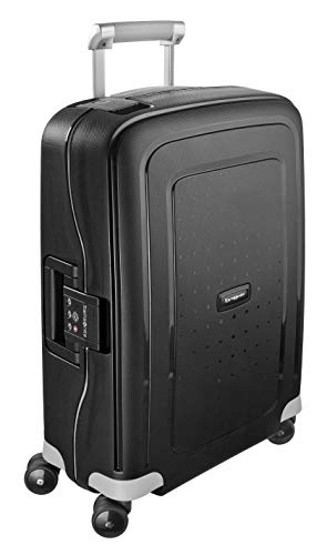 Samsonite S'Cure Spinner S - Maleta de equipaje, S (55 cm - 34 L), Negro (Black)