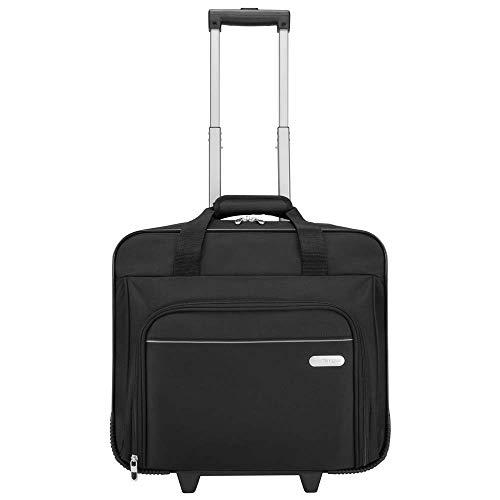 Targus Executive Maletín con asa telescópica, bolsa para portátiles de hasta 15,6', maletín de...