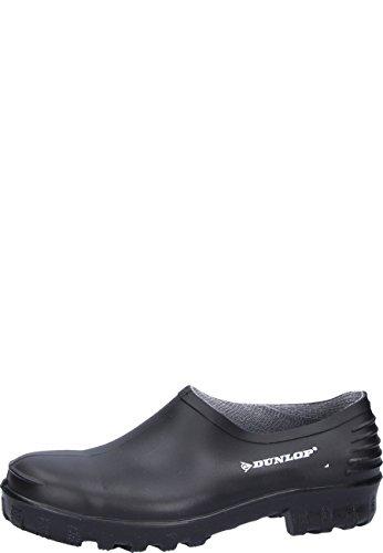 Dunlop 814P PLASTIC KLOMP ZWART 44 - Zuecos unisex, Negro (Negro(Zwart) 00), 41