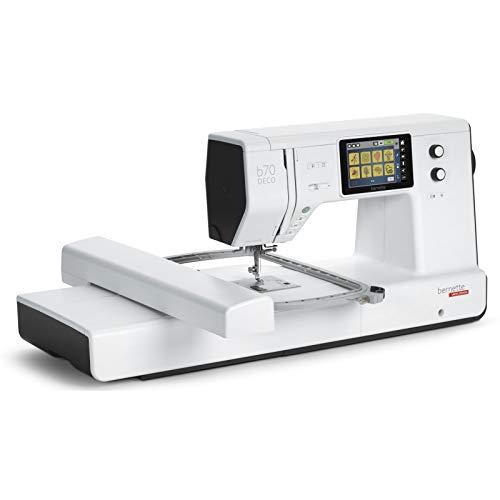 Bernette B70 Deco - Máquina de bordar con módulo de bordado, incluye software de bordado,...
