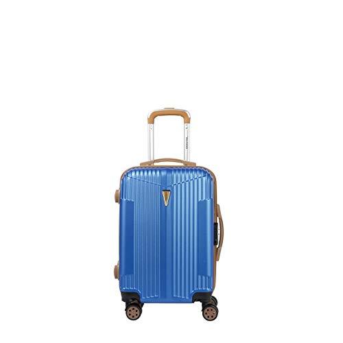 Maleta de cabina de 55 cm con 8 ruedas, azul marino (Azul) - MU00040-SNAV