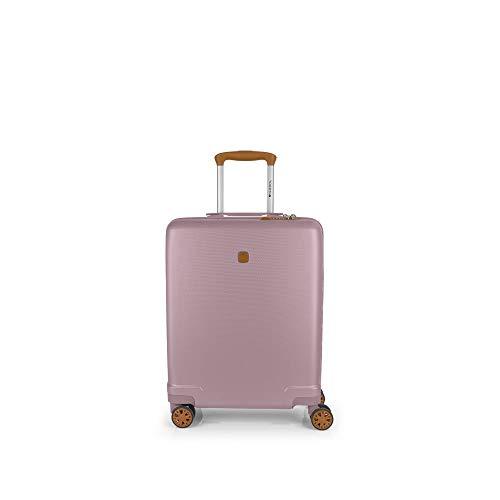 Gabol - Mosaic   Maleta de Cabina Rigida de 39 x 55 x 20 cm con Capacidad para 35 L de Color Rosa