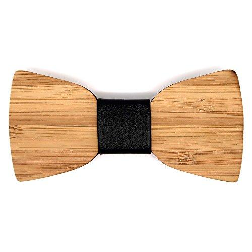 Pajarita de madera de Haya