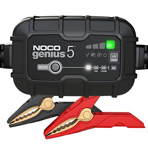 NOCO GENIUS5EU, 5A cargador de batería automático inteligente portátil de 6V y 12V, mantenedor de...