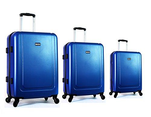 Set Trolleys Cabina + Mediana + Grande Unik Revolution Kappa Color Azul