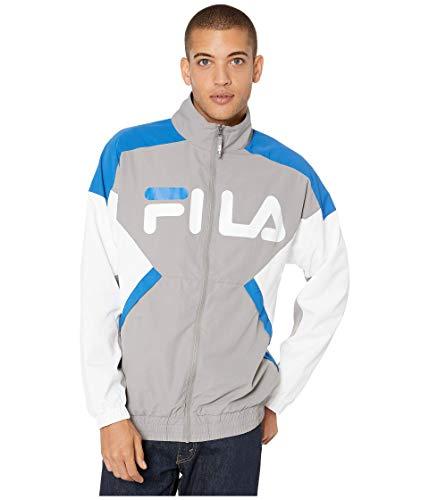 Fila Oliviero Wind Jacket Frost Grey/Baleine Blue/White MD