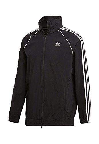 adidas SST Windbreaker Jackets, Hombre, Black, M