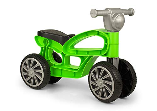 Chicos Correpasillos con cuatro ruedas Mini Custom Verde. 36048. FJNinco, color Fábrica de Juguetes