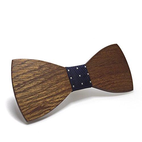 Pajarita de madera tradicional
