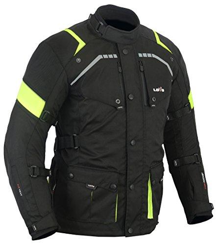 LOVO Chaqueta 3/4 para moto (Hombre) (3XL)