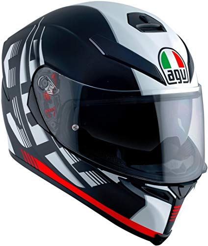AGV Casco de moto, modelo deportivo premium