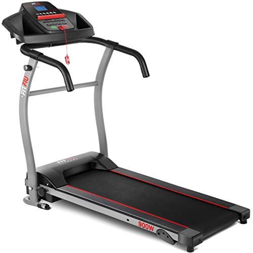 Fitfiu Fitness MC-100 - Cinta de correr plegable con velocidad ajustable hasta 10 km/h, inclinación...