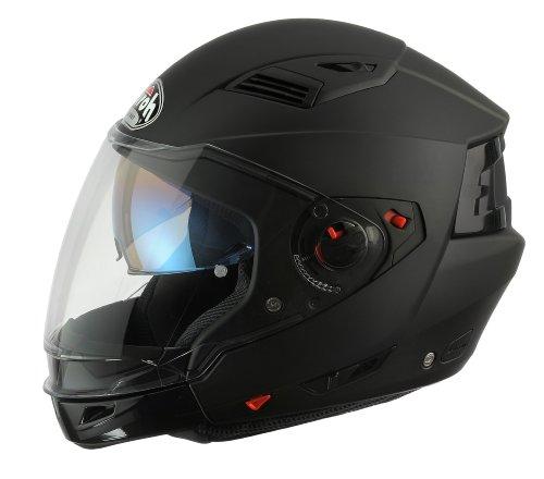 Airoh EX11XS Casco, Color Negro, Talla 53-54 cm