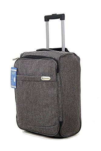 EasyJet cabina bolsa de equipaje de mano Suitecase ligero estupendo con el mango extensible y ruedas...