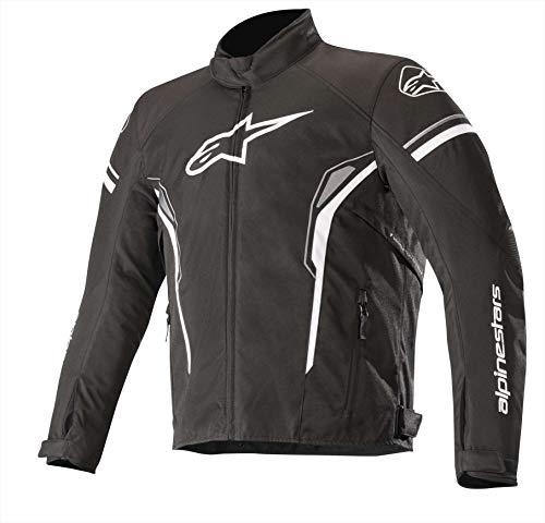 Alpinestars Chaqueta moto T-sp-1 Waterproof Jacket Negro Blanco, Negro/Blanco, M