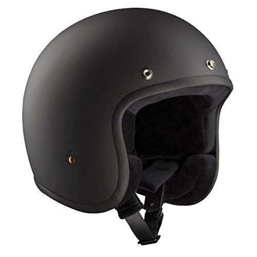 Casco Bandit para moto, según las normas ECE Jet, ECE 22-05, casco abierto en un diseño pequeño