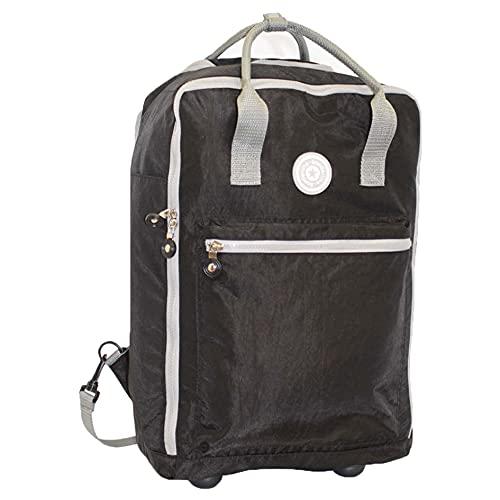 Travel Suite Case World's LIGHTEST - Bolsas de tamaño cabina, Black, Talla única,