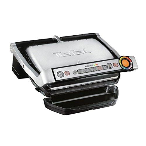 Tefal Optigrill GC712D12 - Plancha Grill 2000 W, 6 modos de cocción y 4 temperaturas ajustables con...