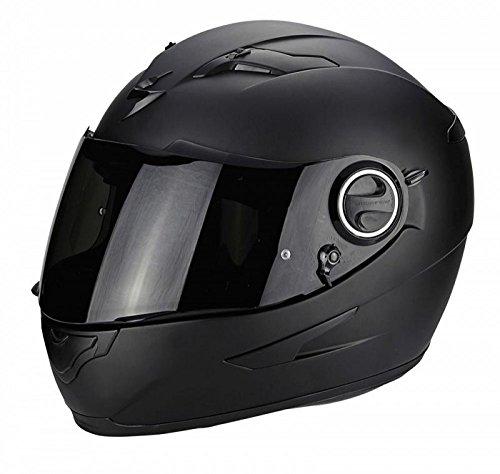 Scorpion Casco de moto EXO 490 Negro Mat, Negro, M