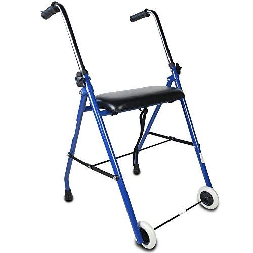Mobiclinic, Modelo Emérita, Andador para ancianos, adultos, mayores o minusválidos, de Acero,...