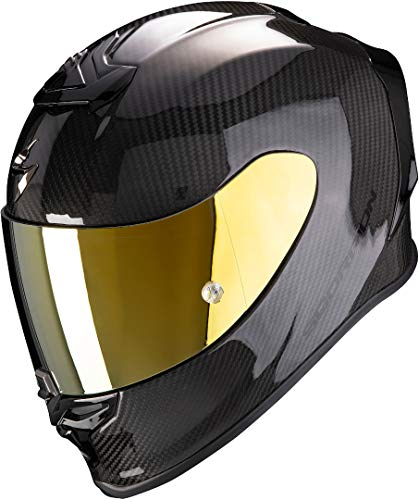Scorpion Exo-R1 Carbon Air Casco Moto, Hombre, Negro, XXL