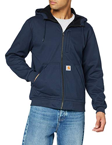 Carhartt Wind Fighter Sweatshirt, Navy, M para Hombre