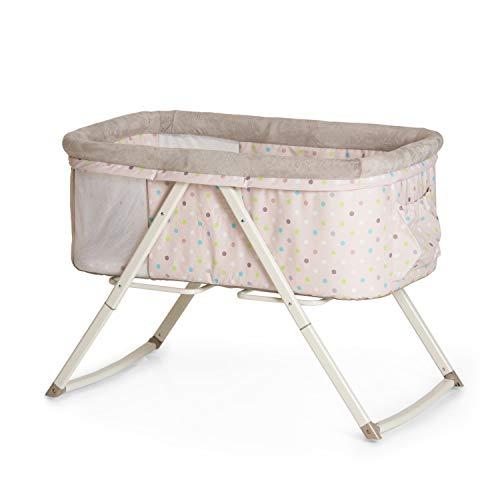 Hauck Minicuna Dreamer, para Bebes desde el Nacimiento hasta 9 kg, con Colchón, Function Mecedora,...