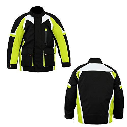 415 - Chaqueta de motocross para niños y niños, color verde