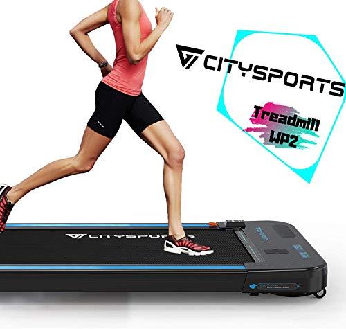 CITYSPORTS Cinta de Correr Caminar Eléctrica Motor 440W, Altavoces Bluetooth, Velocidad Ajustable,...