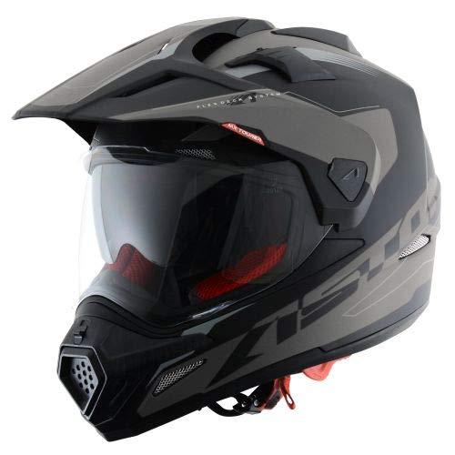 Astone Helmets -CROSS TOURER ADVENTURE - Casque de motocross homologué en polycarbonate - Casque...