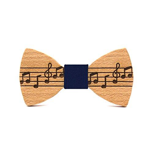 Pajarita de madera para niño