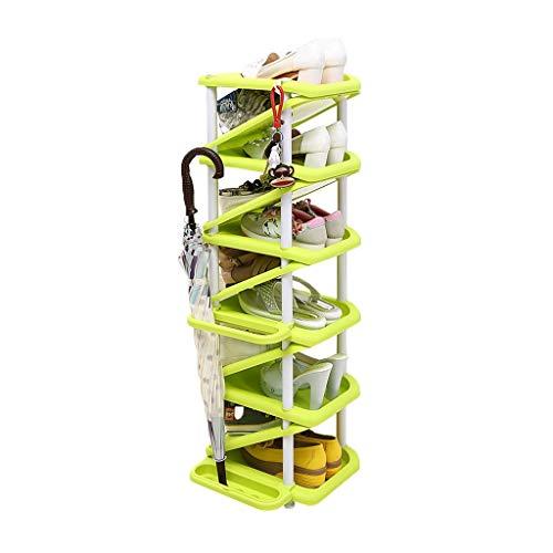 Estante de zapatos Multi-layer Plastic Storage Shoe Rack Home Multi-function Shoe Rack en forma de Z...