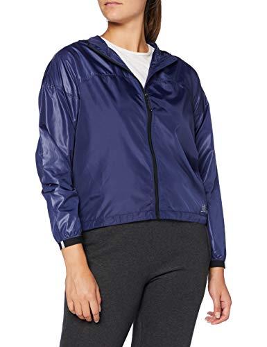 New Balance Light Packable Jacket Chaqueta, Mujer, Techtonic Azul, Medium