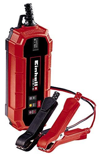 Einhell Un cargador de baterías CE-BC 1 M (cargador de baterías inteligente con control por...