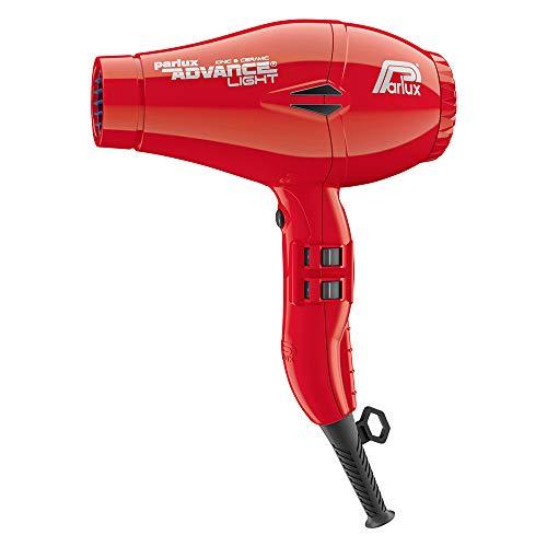 Parlux Advance Light - Secador de pelo ionico, Rojo