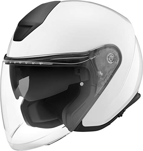 SCHUBERTH M1 Pro Blanco Brillante Abierto Casco De Motocicleta Tamano XL
