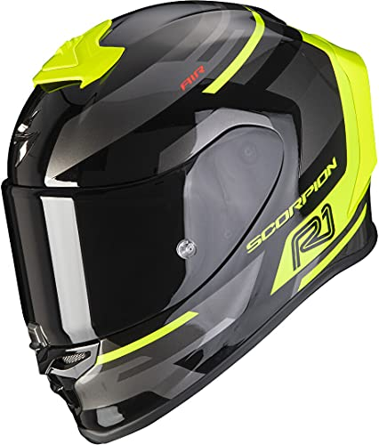Scorpion EXO-R1 AIR ORBIS Black-Neon Yellow S