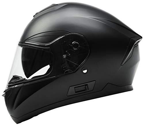 Casco Moto Integral ECE Homologado - YEMA YM-831 Casco de Moto Scooter para Mujer Hombre Adultos con...