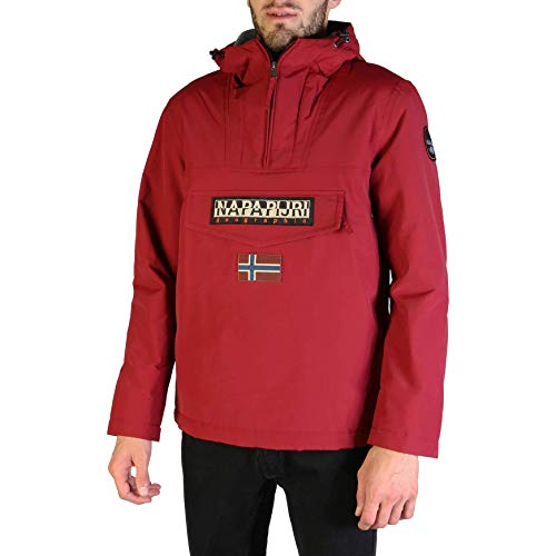 Napapijri Rainforest Winter, Chaqueta para Hombre, Rojo (Red Bourgogne R69), Medium