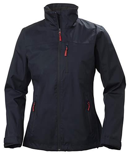 Helly Hansen W Crew Midlayer Jacket Chaqueta Impermeable, Mujer, Navy, XS