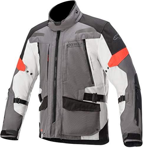 jacket VALPARAISO V3 DRYSTAR, ALPINESTARS (dark gray/light gray/red, size L)