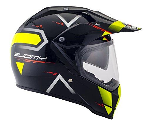 Suomy Casco para Moto Integral Enduro Trail/Mx, Amarillo (Road Yellow, XS