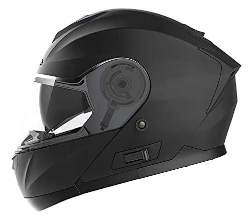 Casco Moto Modular ECE Homologado - YEMA YM-926 Casco de Moto Integral Scooter para Mujer Hombre...