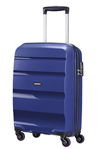 American Tourister - Bon Air - Spinner Equipaje de mano 55 cm, 32 L, Azul (Midnight Navy)