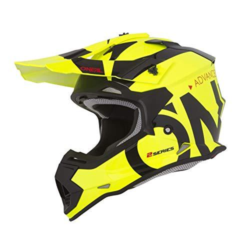 O'NEAL | Casco de Motocross | MX Enduro | ABS Shell, Estándar de Seguridad ECE 2205, Óptima...