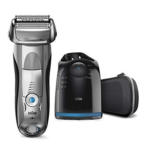 Braun Series 7 7898 cc - Afeitadora eléctrica para hombre de lámina , en seco y mojado, máquina...