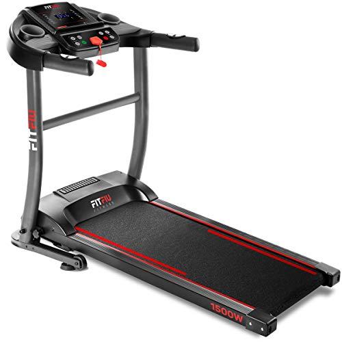 Fitfiu Fitness MC-200 - Cinta de correr plegable con velocidad hasta 14 km/h, superficie de carrera...