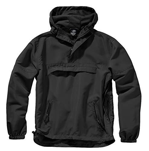 Brandit Summer Chaqueta impermeable para hombre, chubasquero, anorak, chaqueta para entrenar, talla...